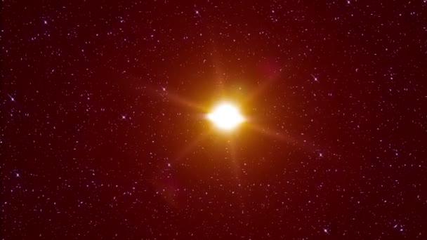 supernova star explosion in space