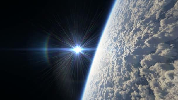 vysoko nad planetou 4k