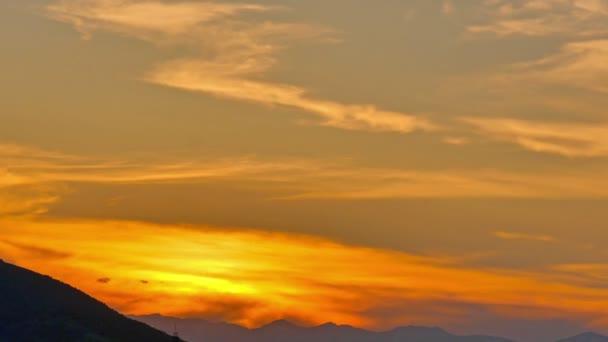arany naplemente Időközű 4k