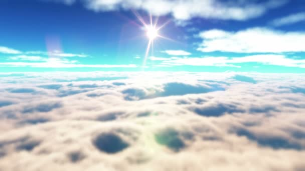 letí nad mraky 4k