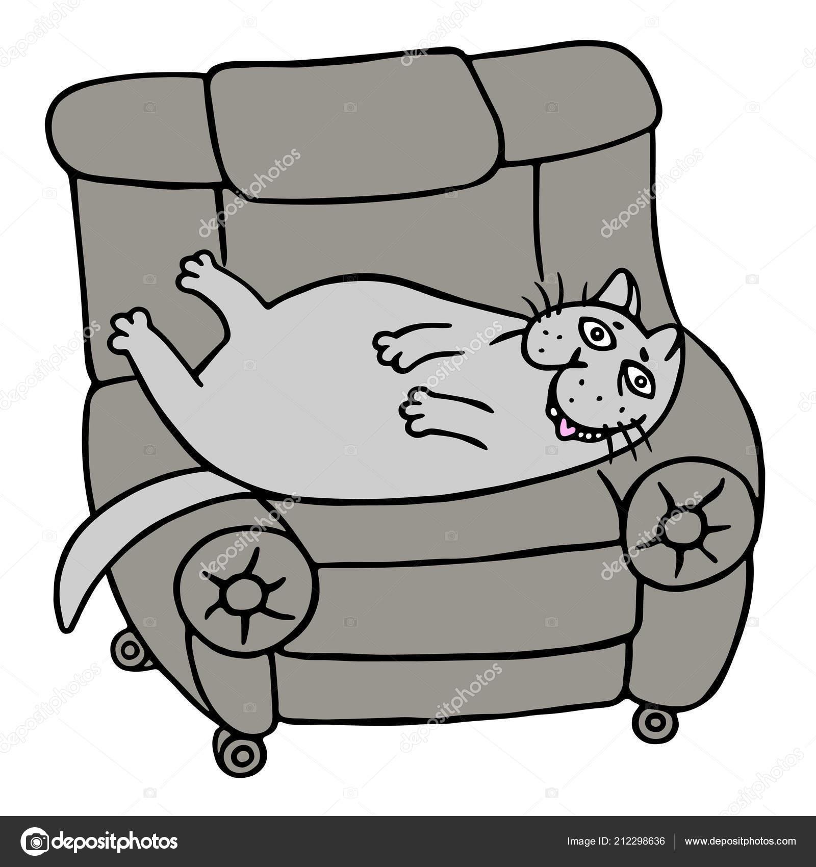 фильтр картинка толстая кошка сидит на коврике кто