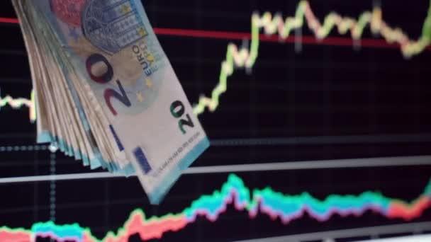 Weltbörsencrash während der Coronavirus-Pandemie, Kursverfall der Aktien, Rückgang der Finanzinvestitionen. Wechselkursanalyse, Zusammenbruch und Inflation aufgrund von Covid19