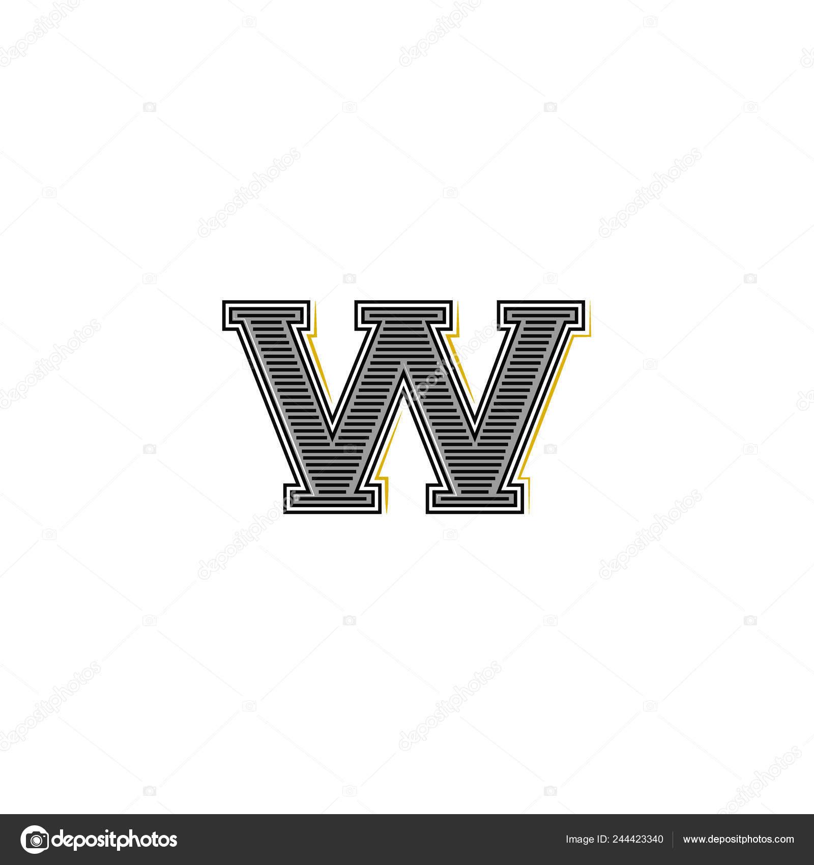 Bold Letter Logo Medieval Monogram Old Identity Mark Design Element Stock Vector C Uasumy 244423340