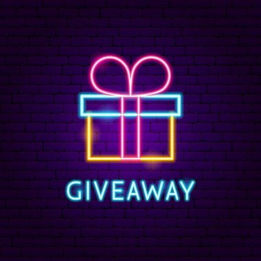 Giveaway Neon Label