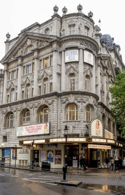 Novello theatre building at West End in London, United Kingdom