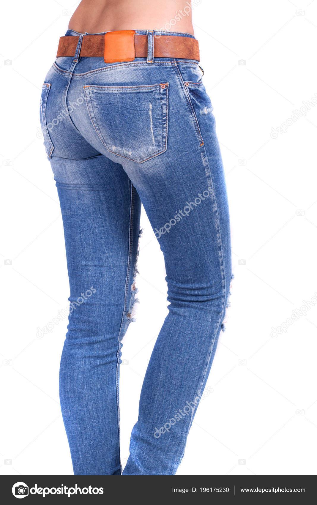 Cul Portant Sexy Femme Des Monter Gros Féminin Jeans Bleus QrdxBCoeW