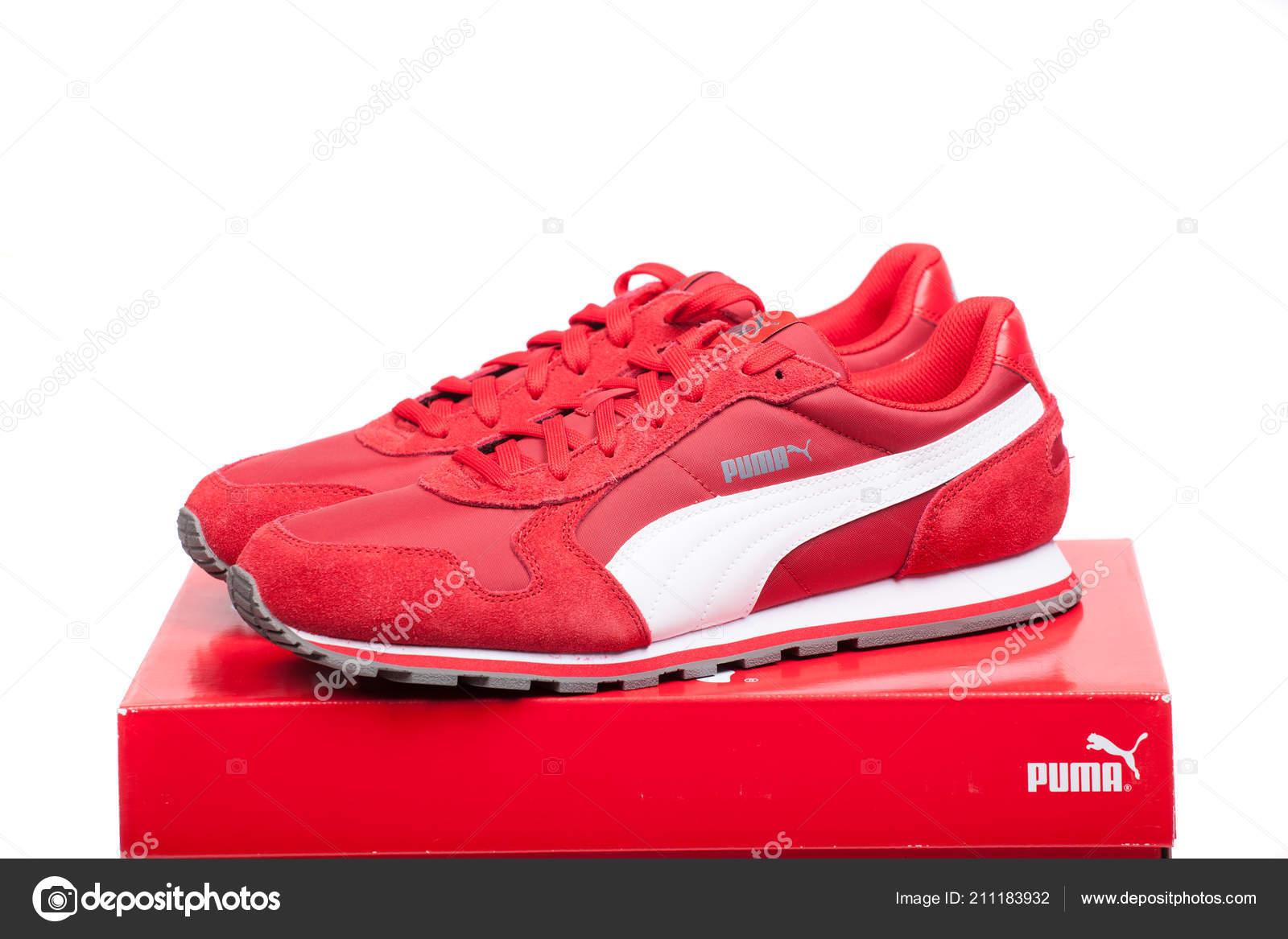 Del Varna Zapatos Puma Bulgaria Roja 2017 Rojo Junio Caja wvqCS