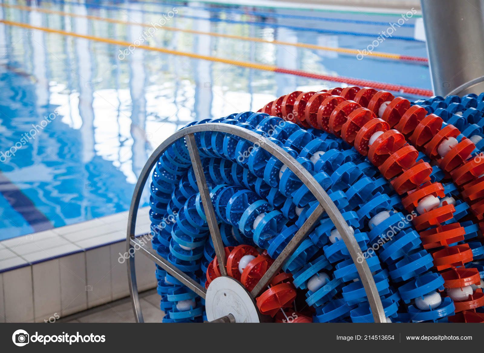 Swimming Lanes Markers Reel Storage Pool Pool Lane Lines ...