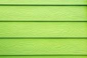 Fotografia Struttura in legno - lacca sul grano di legno verniciata verde