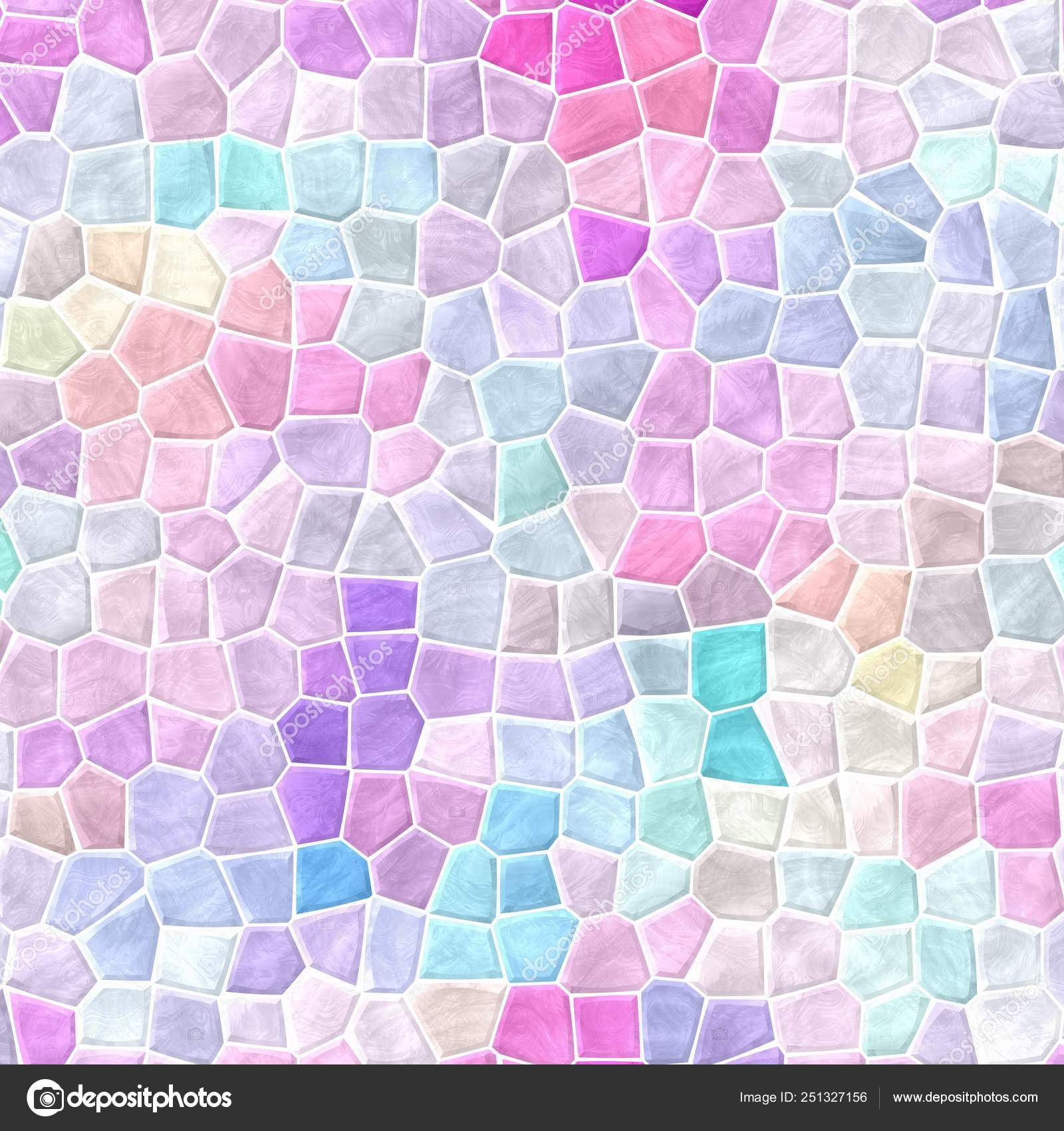 Abstract Nature Marble Plastic Stony Mosaic Tiles Texture Background With White Grout Light Pastel Pink Blue Purple Violet Gray Mauve Colors Stock Photo C Ardely 251327156