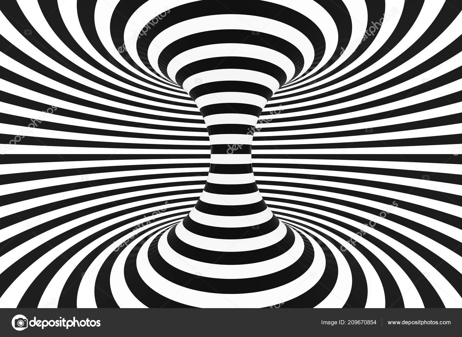 depositphotos 209670854 stock photo black and white spiral tunnel