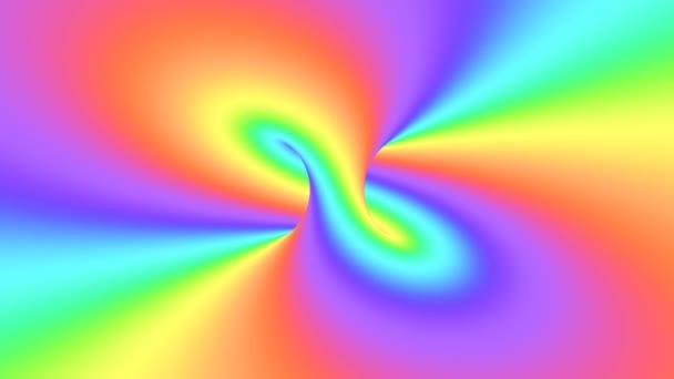 Psychedelická optická iluze spektra. Abstraktní duhové hypnotické pozadí. Světlá a barevná Tapeta