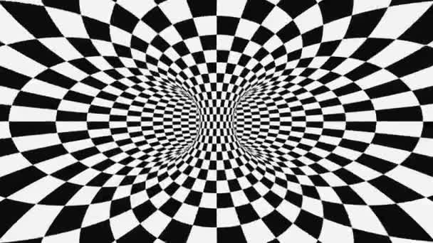 Black And White Psychedelic Optical Illusion Abstract Hypnotic