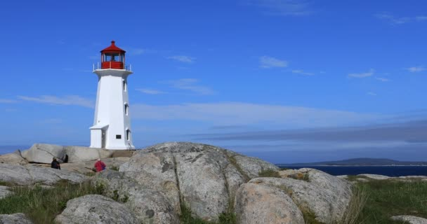 Peggys Cove Leuchtturm, Nova Scotia 4k anzeigen