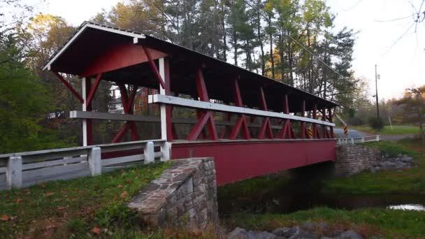 Colvin Covered Bridge in Pennsylvania, Spojené státy