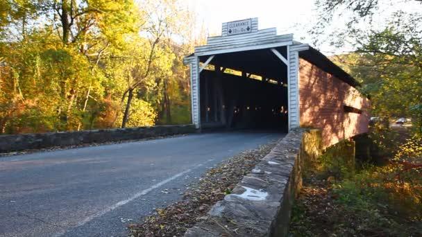 Sheeders Covered Bridge in Pennsylvania, United States