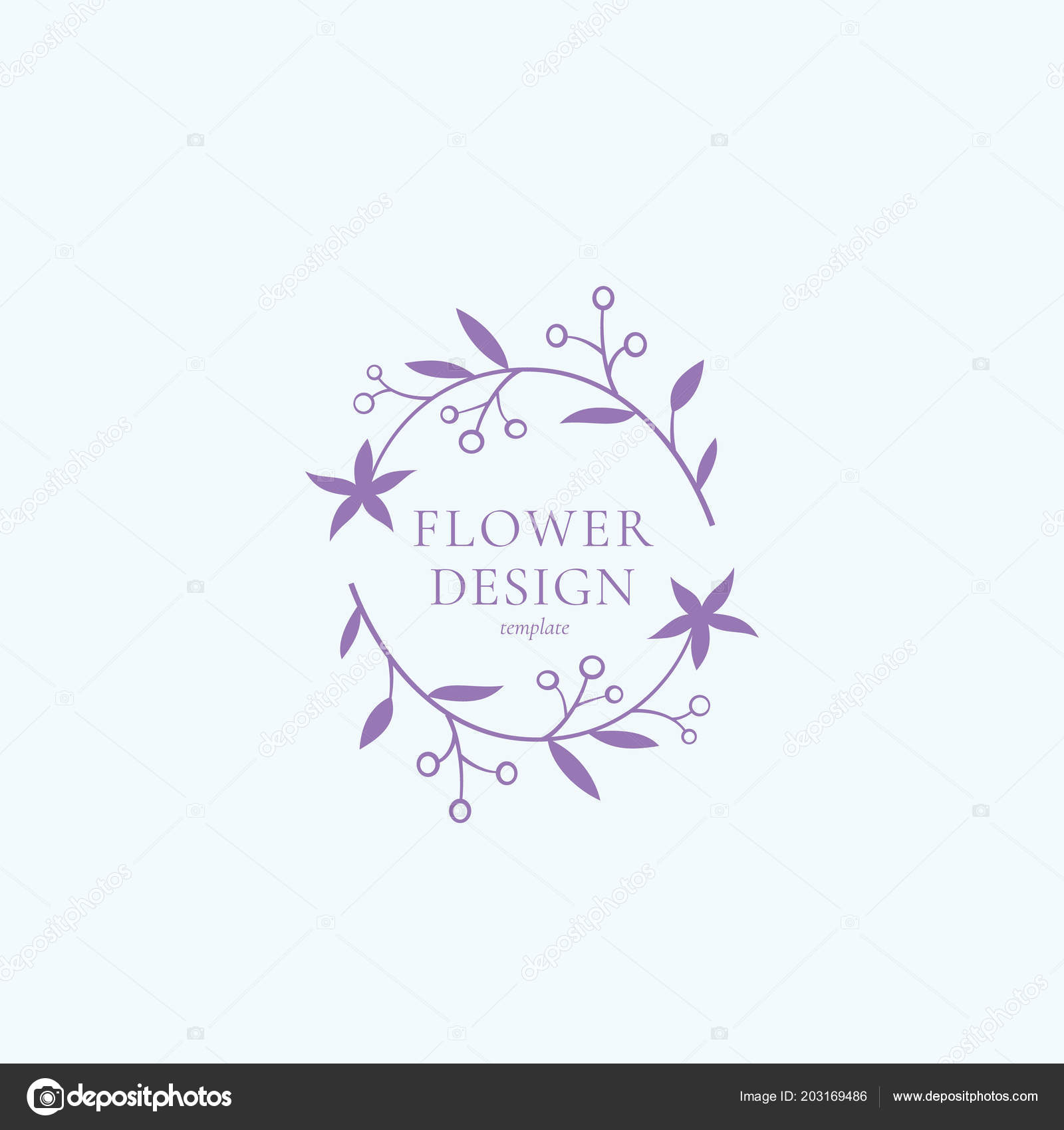 Flower design vector sign symbol or logo template abstract retro flower design vector sign symbol or logo template abstract retro floral illustration with classy typography cute premium quality emblem for beauty salon izmirmasajfo