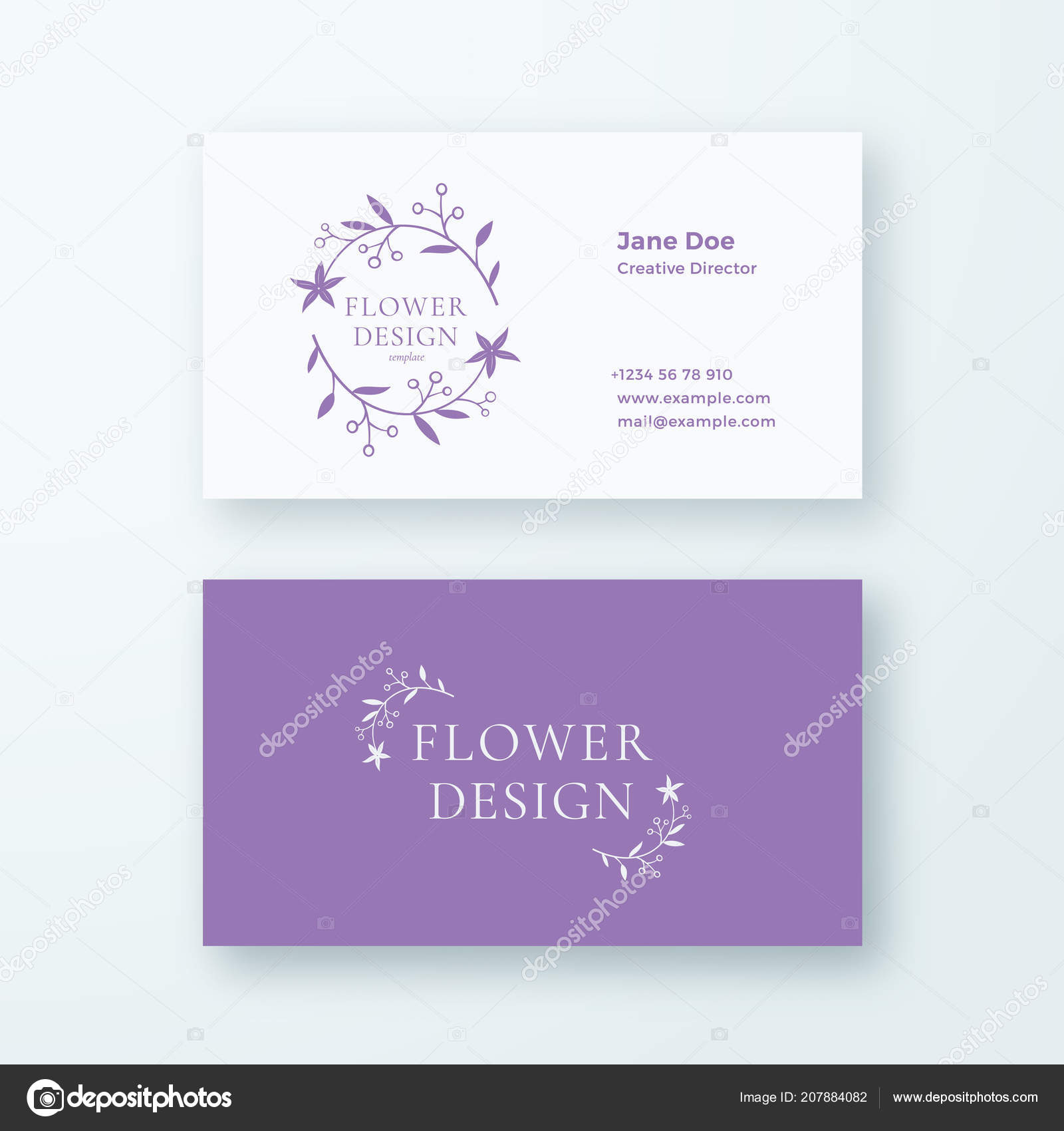 Abstract feminine flower branch vector sign or logo and business abstract feminine flower branch vector sign or logo and business card template premium stationary realistic fbccfo Choice Image