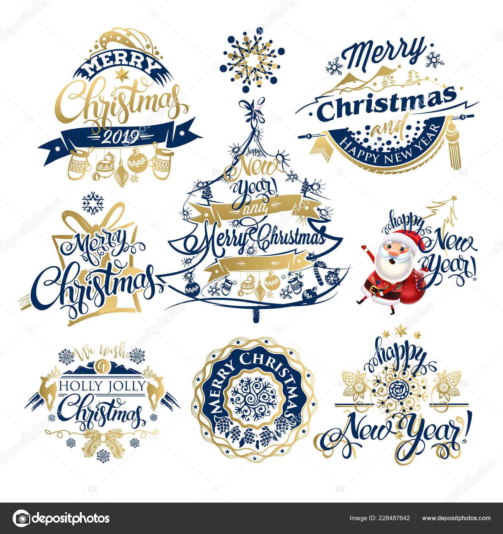 Etiquetas Navidad Ano Nuevo 2019 Las Fronteras Juego Decoracion