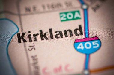 Kirkland. Washington. USA. Travel, map