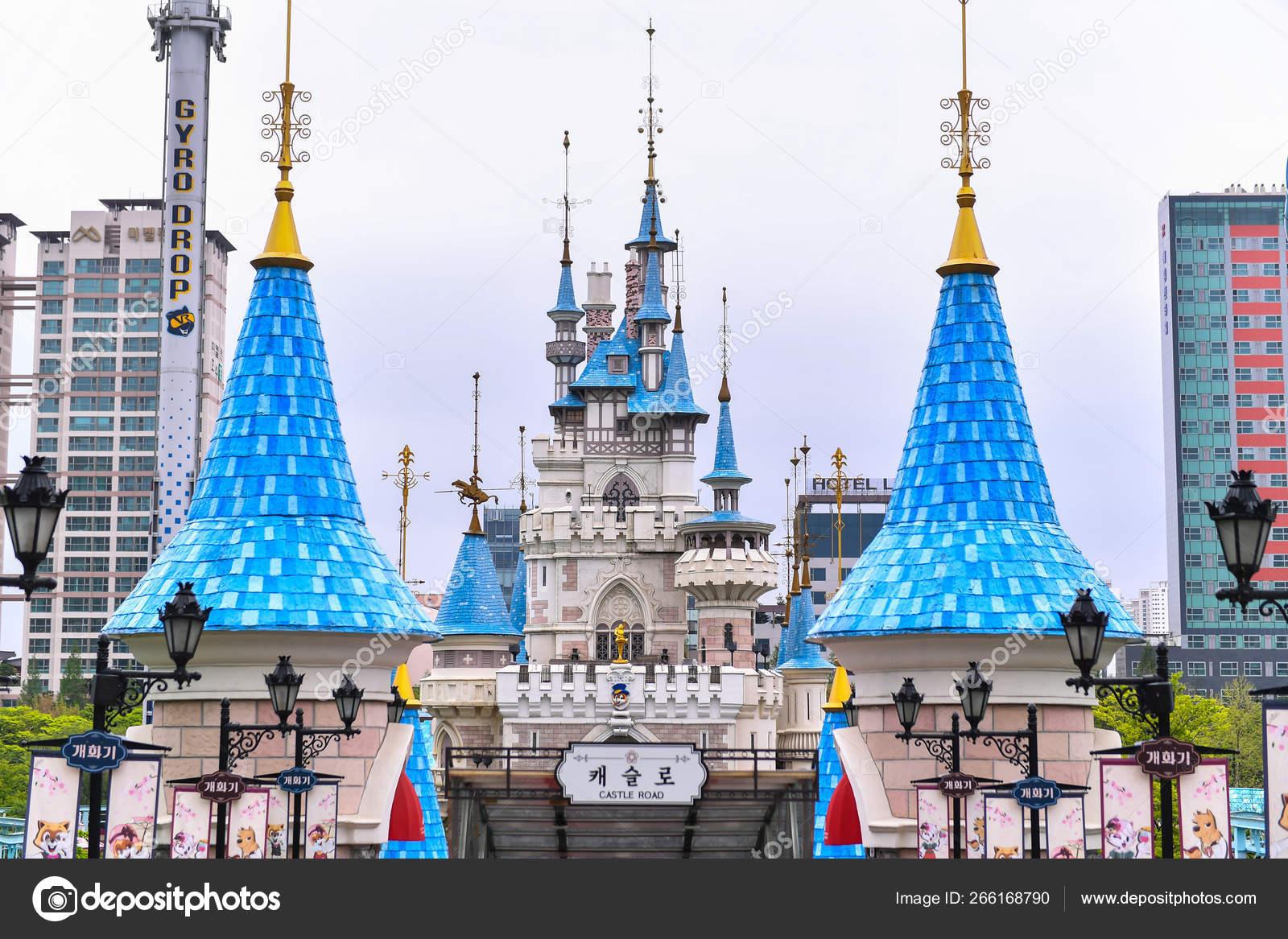 Seoul South Korea Apr 24 2019 The Magic Land Of Lotte World