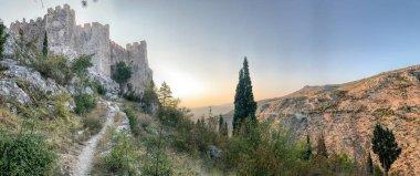 Landscape photography of medieval castle
