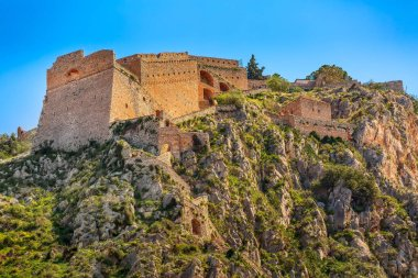 Palamidi castle on the hill, Nafplion, Greece