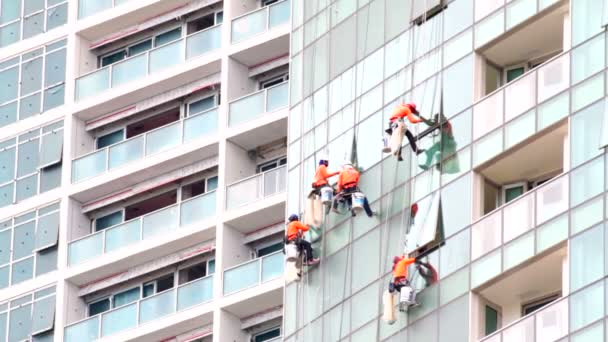 Stavební konstrukce pracuje na mrakodrap
