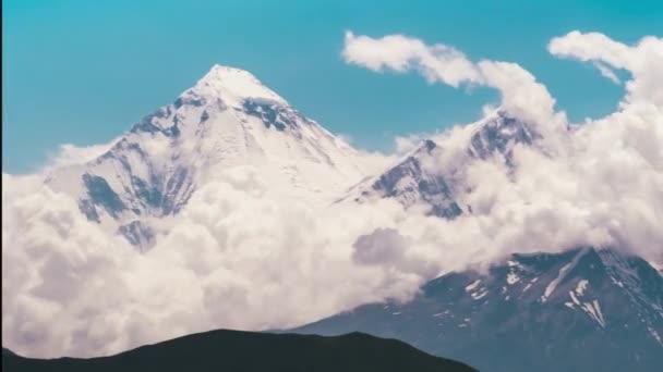 Dramatické Mountain view Timelapse