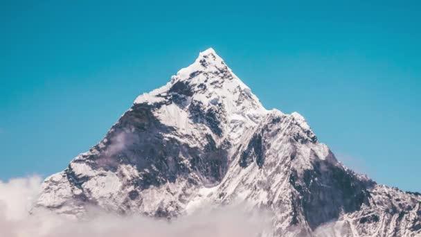 Closeup Mountain view Timelapse
