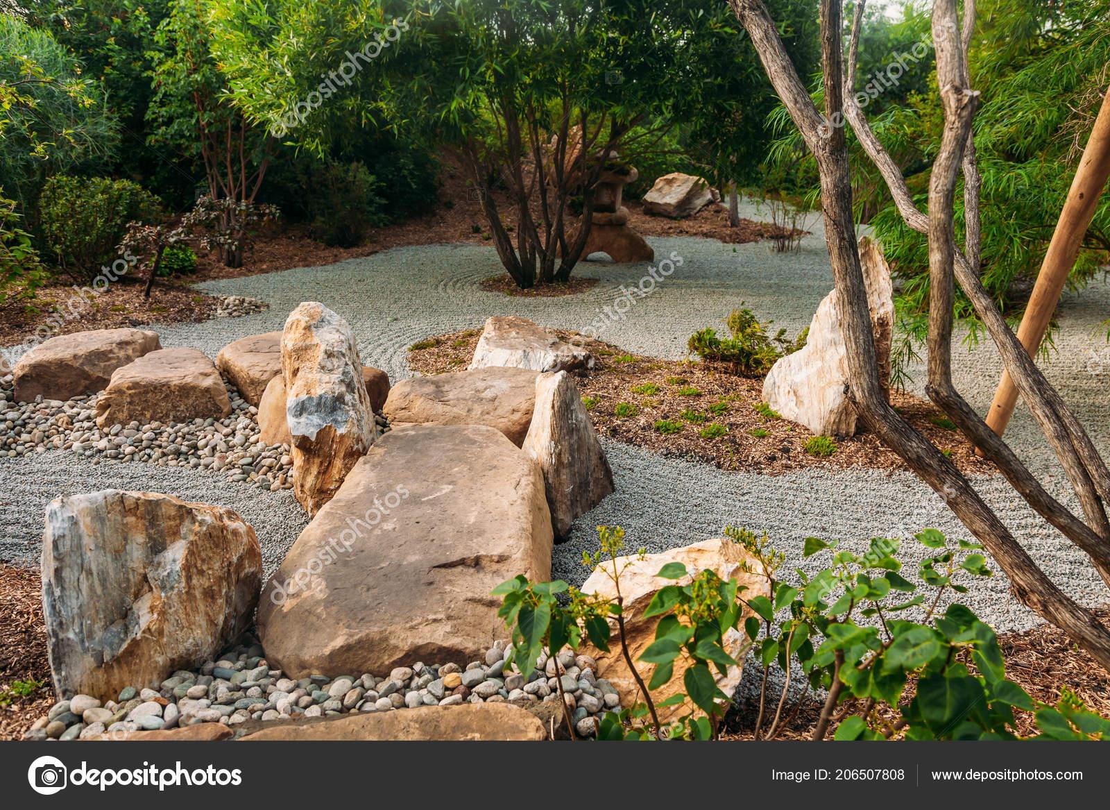 Beautiful Japanese Stone Garden Landscape In Summer U2014 Photo By Logdog7