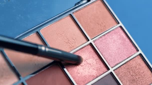 Workflow details, tools in the beauty industry. Decorative cosmetics.