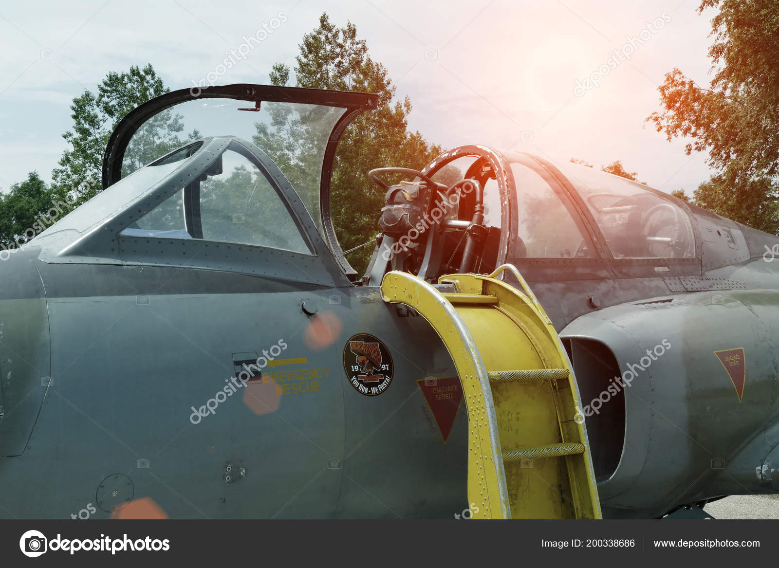 Ecka Serbia 26Th May 2018 Military Jet Plane Pilot Training