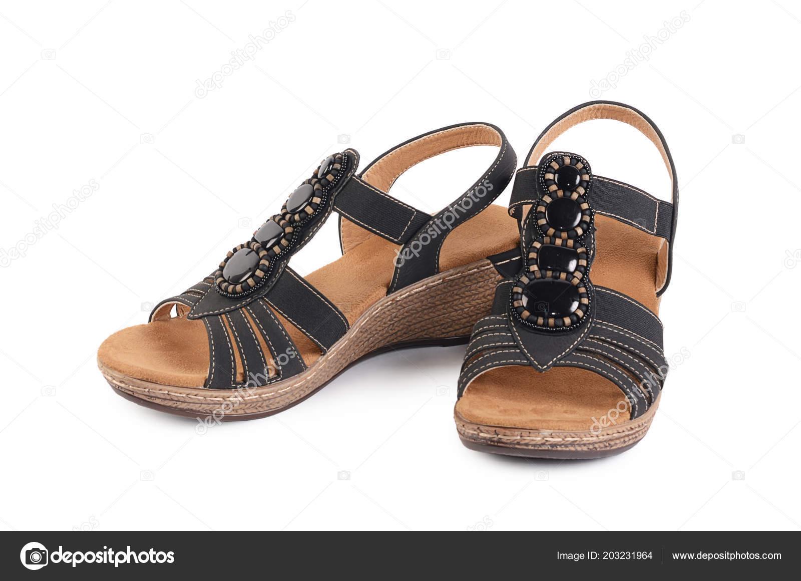 Sobre Fondo Blanco Aislados Verano Mujer Zapatos TwPaqgS1