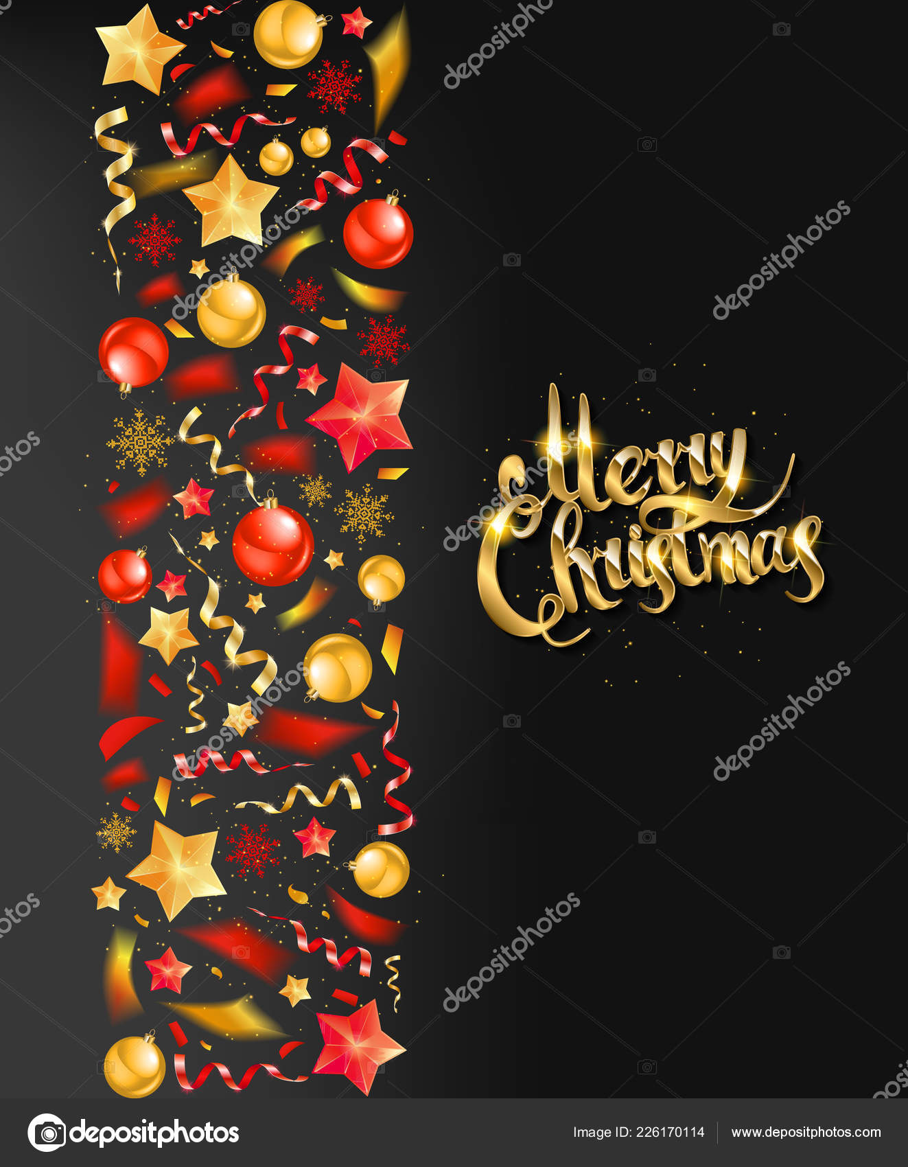 Invitación Fiesta Cena Navidad Cartel Folleto Tarjeta