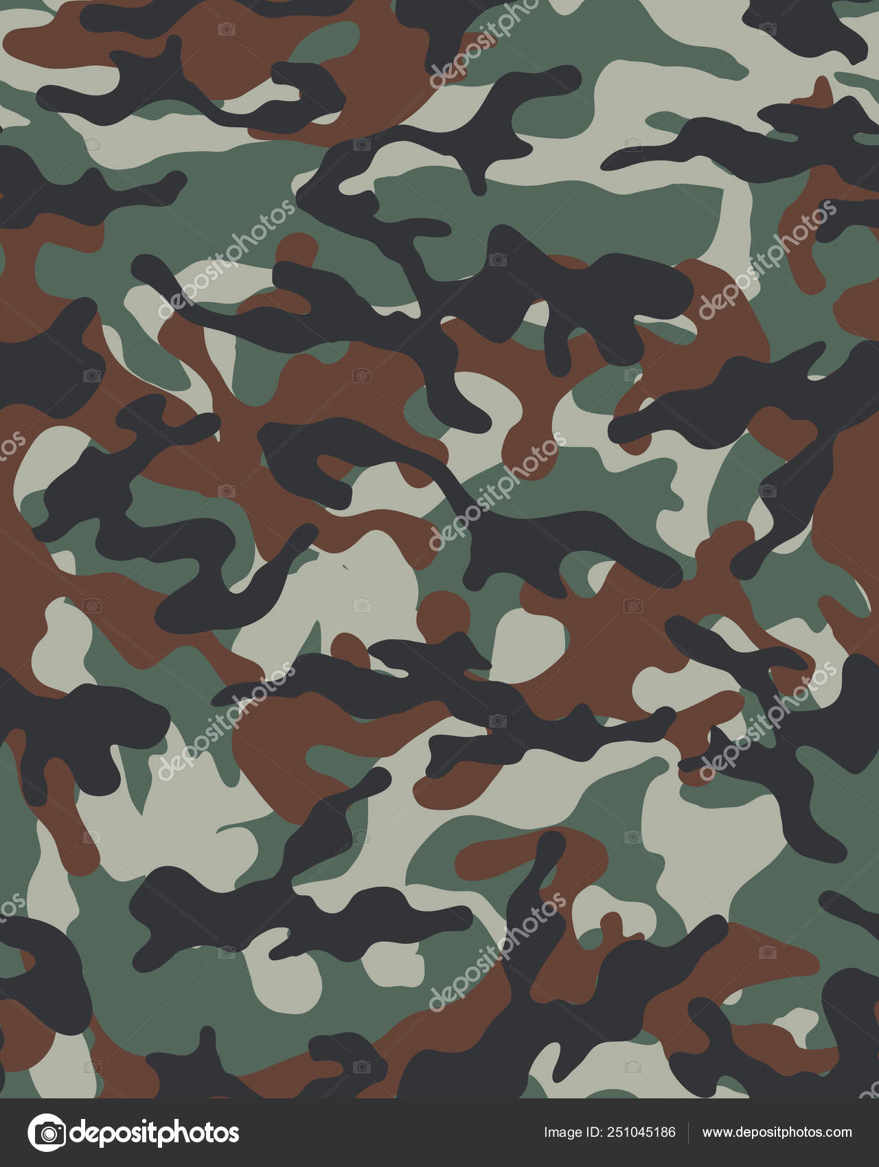 Military Camo Wallpaper Camouflage Pattern Seamless Army