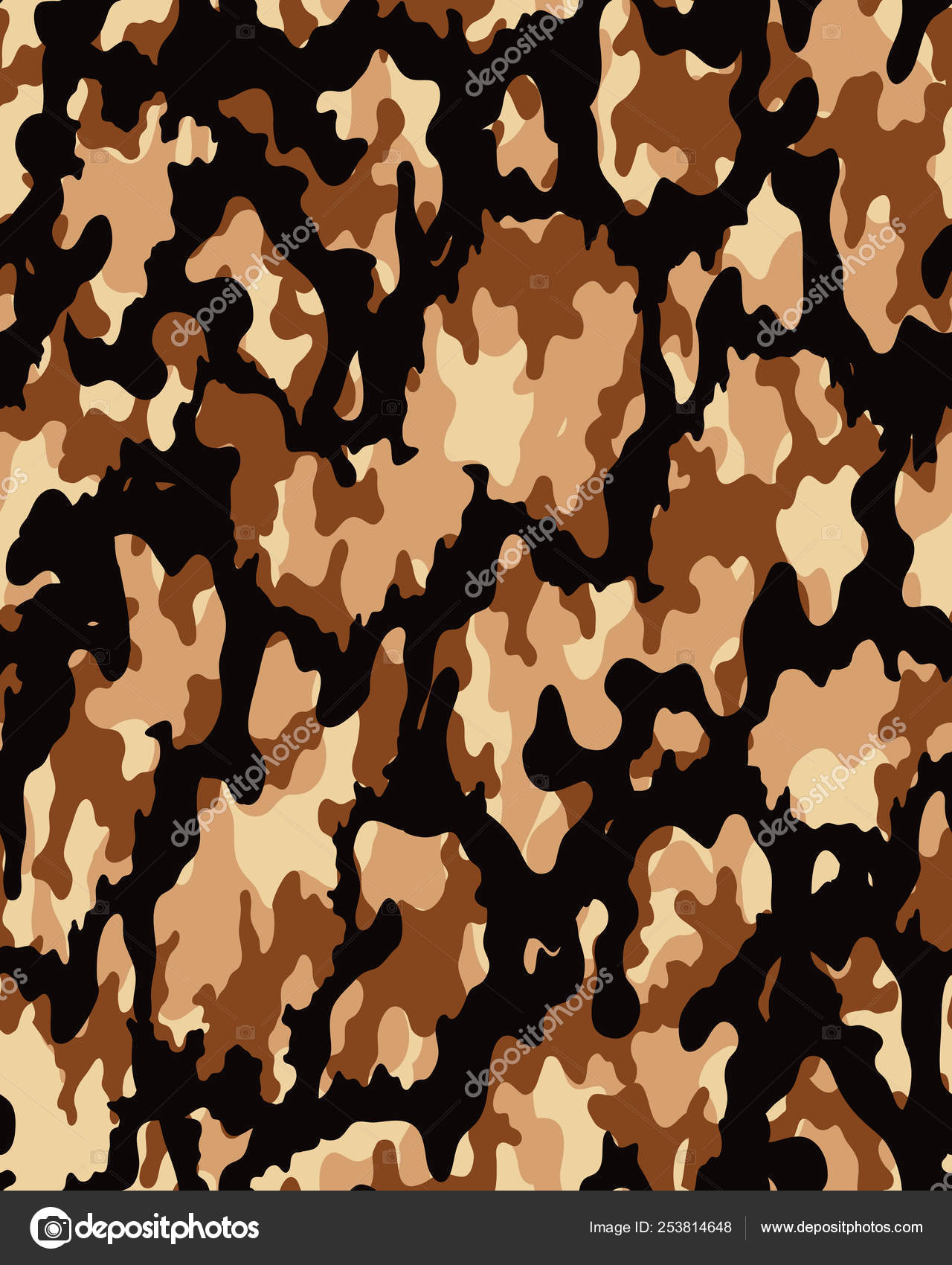 Camouflage Wallpaper Camouflage Pattern Seamless Army