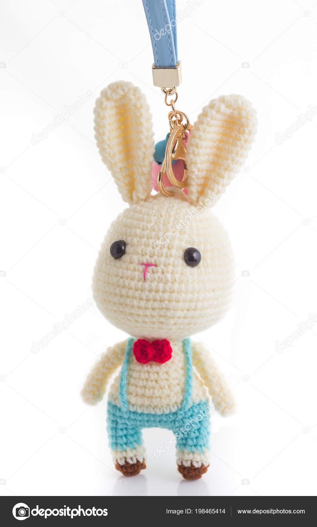 Coniglietto Coniglio Portachiavi Coniglietto Coniglio Bambola Foto