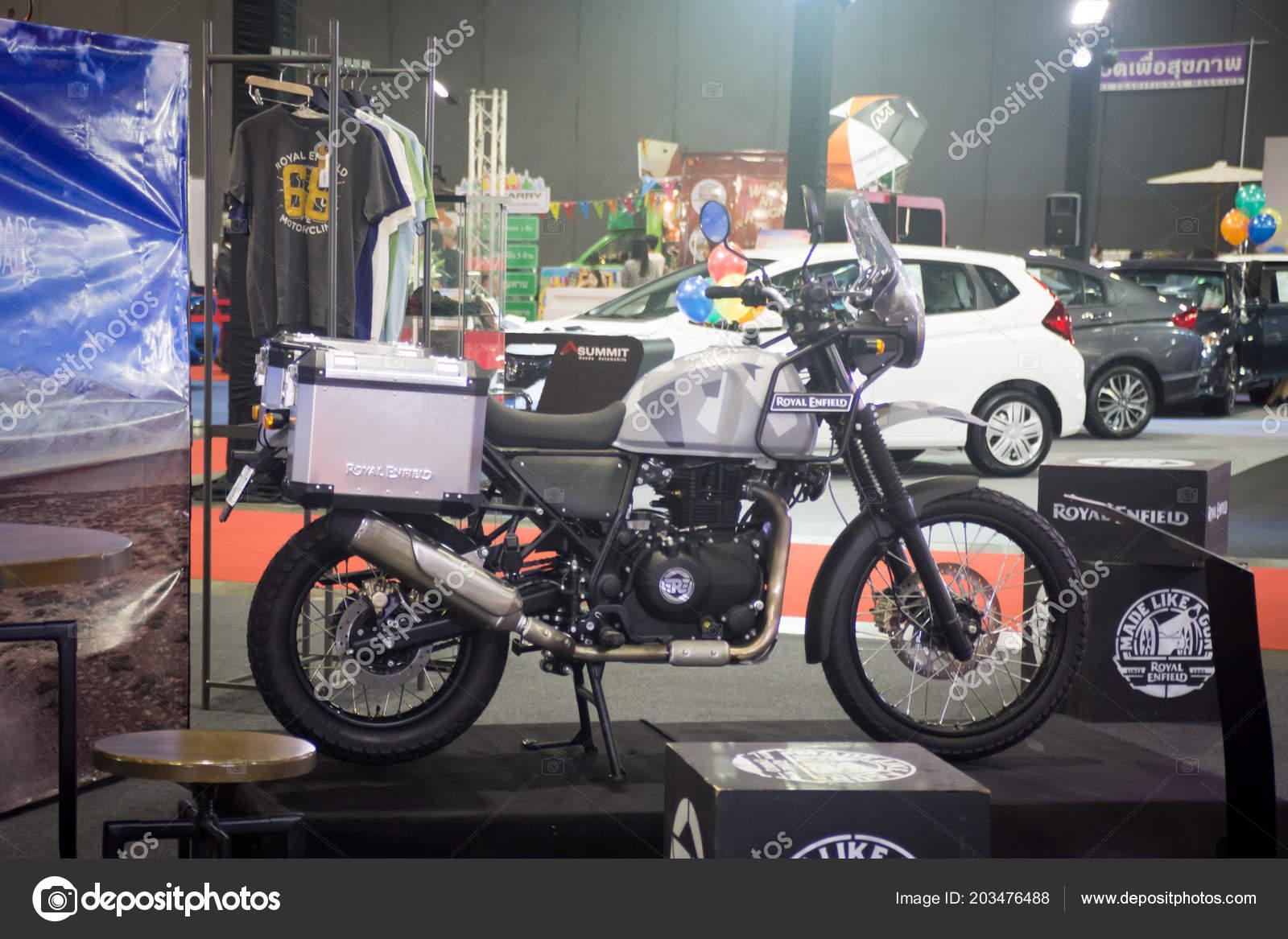 Bangkok July Royal Modified Motorcycle Show Bangkok