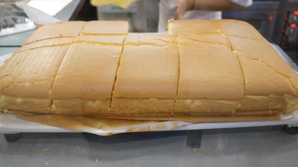 Řezný dort, šlehací dort