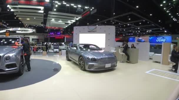 Nové auto na displeji v Thajsku mezinárodní Motor Expo 2018