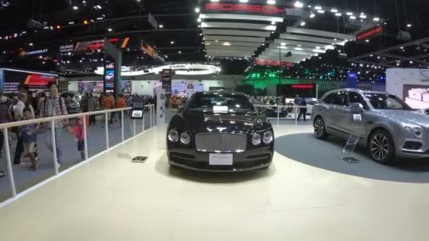 New car on display at Thailand International Motor Expo 2018