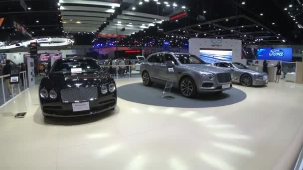 New car on display at Thailand International Motor Expo 2018