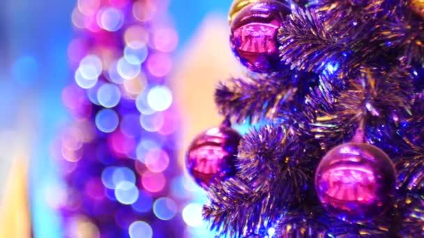 Vánoční světlé pozadí, pozadí šťastný nový rok.