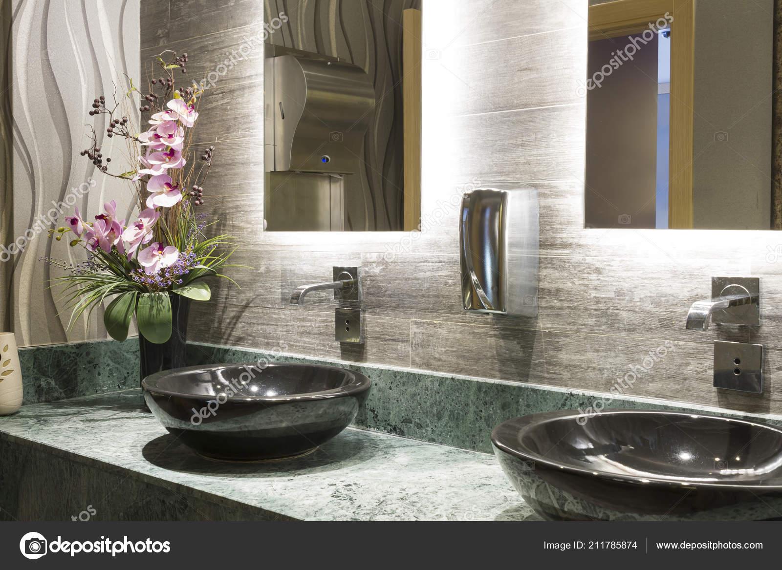Contatore marmo design speciale green black top lavabo soprapiano