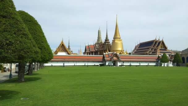 Phra Kaeo, templom, a Smaragd Buddha, Thaiföld Bangkok.