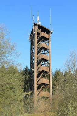 Raiffeisen tower in the Westerwald, lookout tower