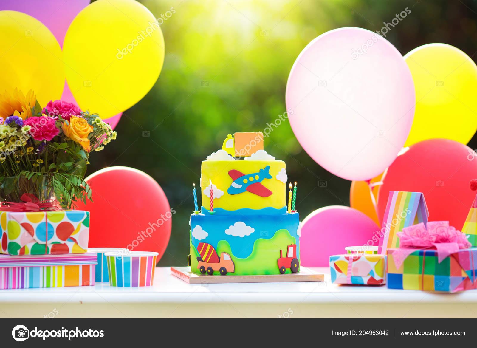 Decoraci n fiesta cumplea os ni os colorido pastel con - Decoracion cumpleanos para ninos ...