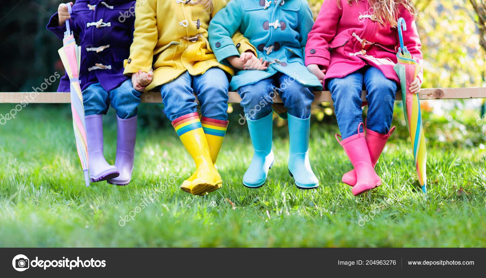 Stivali Gruppo Pioggia Bambini Colorate Scarpe Ragazzi EDI9WH2eY