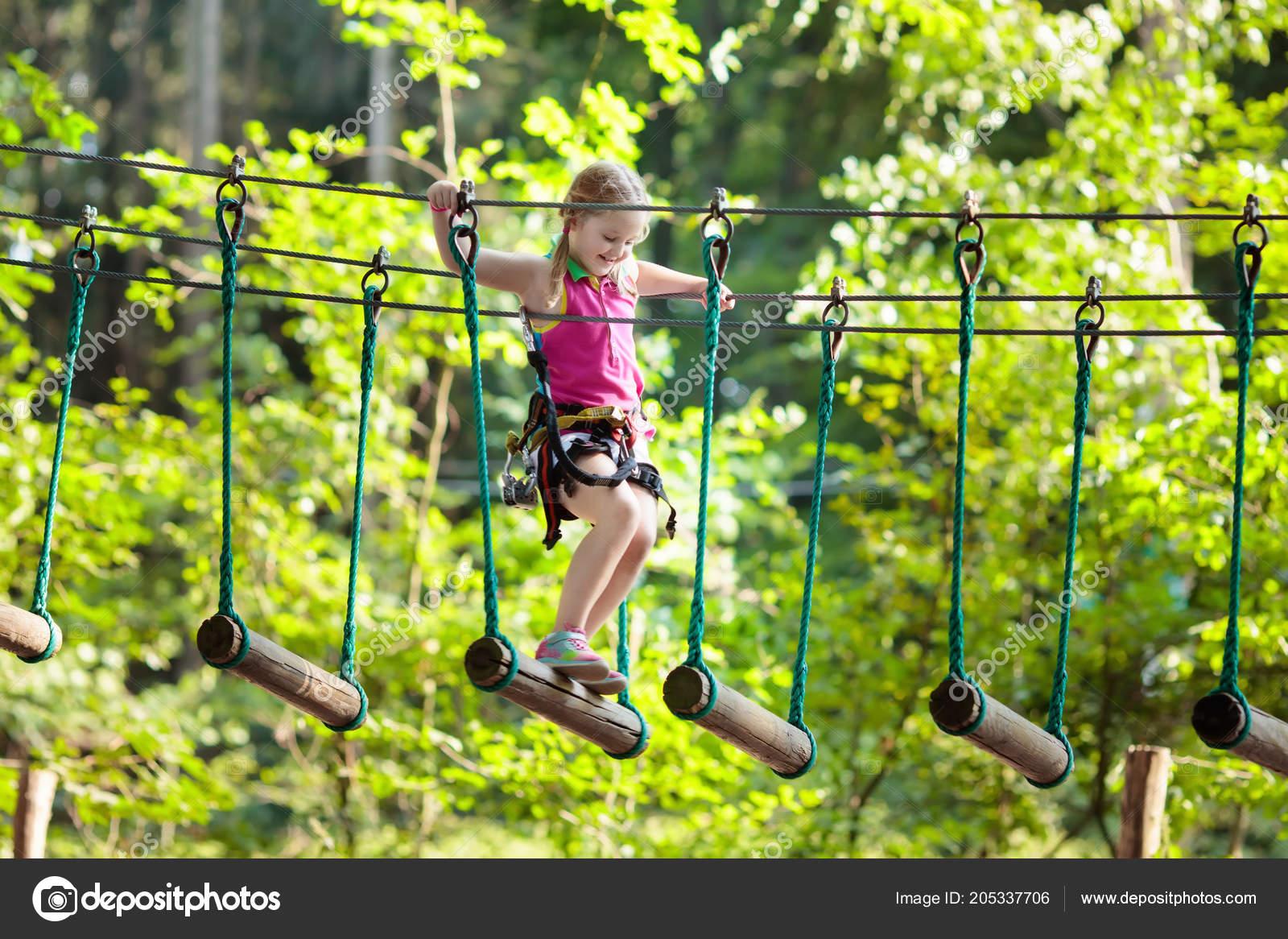 Klettersteig Kinder : Der neue kindergerechte klettersteig mit hochseilgartenelementen